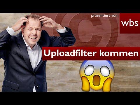 Upload-Filter kommen: Art 17 leider schlimmer als befürchtet