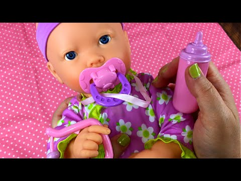 My Sweet Love Interactive Baby Pacifier Sucking Doll From Walmart