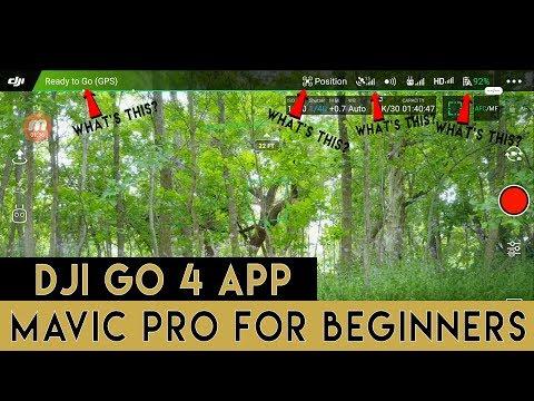 Mavic Pro for Beginners | DJI Go 4 App Basics | Part 1