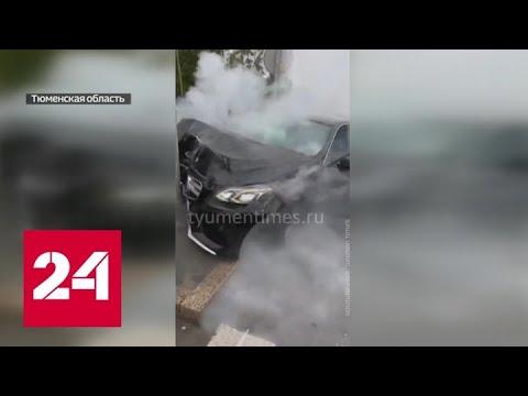 ДТП и разбросанные деньги: как ведут себя тюменские автохамы - Россия 24