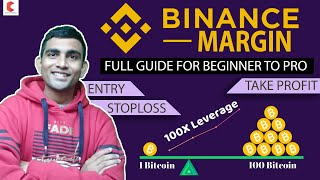Binance Margin Trading full video, ENTRY, STOPLOSS & TAKEPROFIT - CRYPTOVEL