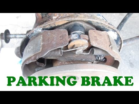 Toyota Parking Brake Service with Rear Disc Brakes  YouTube