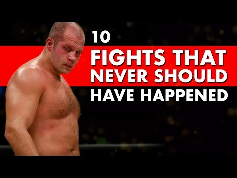 10 Incredible Fights That Never Should Have Happened