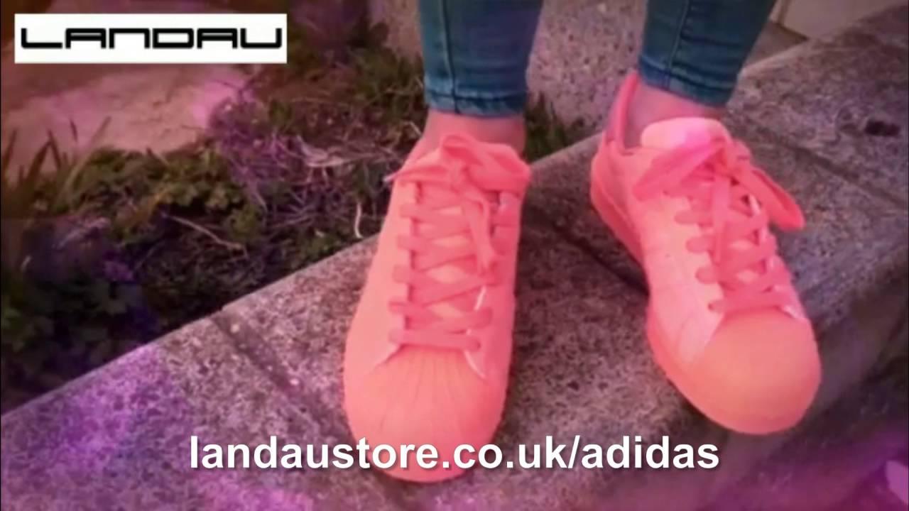 Adidas Superstar Adicolor Sun Glow Peach instructores para las mujeres de