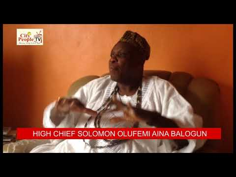 Download BAALE OF ODEMUYIWA SOLOMON OLUFEMI AINA BALOGUN SPEAKS TO CITY PEOPLE ONLINE TV