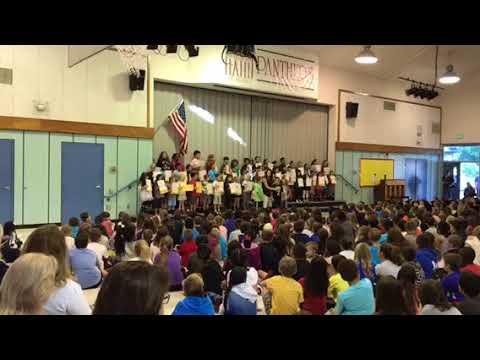 2017/09/26 Marguerite Hahn Elementary School Song