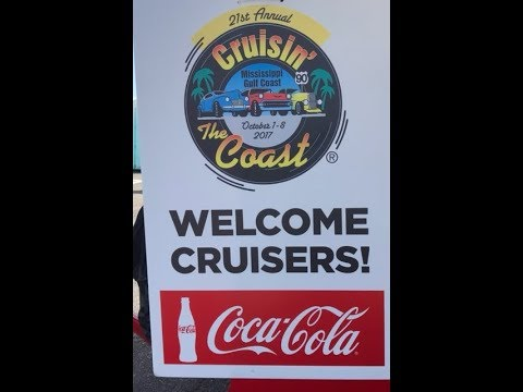 Cruisin' the Coast 2017 Mississippi Gulf Coast