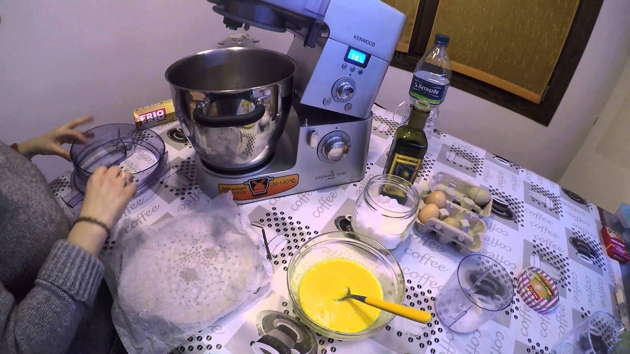 Video Ricette - Kenwood Cooking Chef ricetta di una frittata al ...