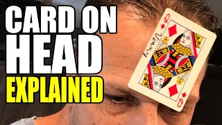 Card On Head - Magic Trick Explained