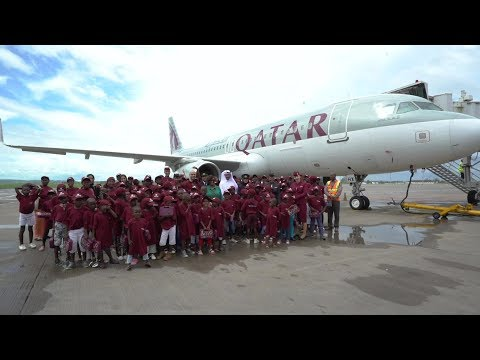 International Civil Aviation Day 2019 with future aviators | Qatar Airways