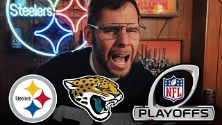 Dad Reacts to Steelers vs Jaguars Playoffs