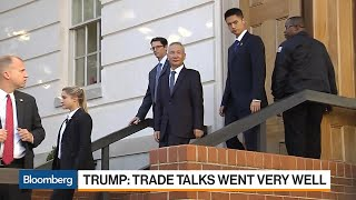 Gambar cover Trump Says Day One of U.S.-China Trade Talks Went Very Well