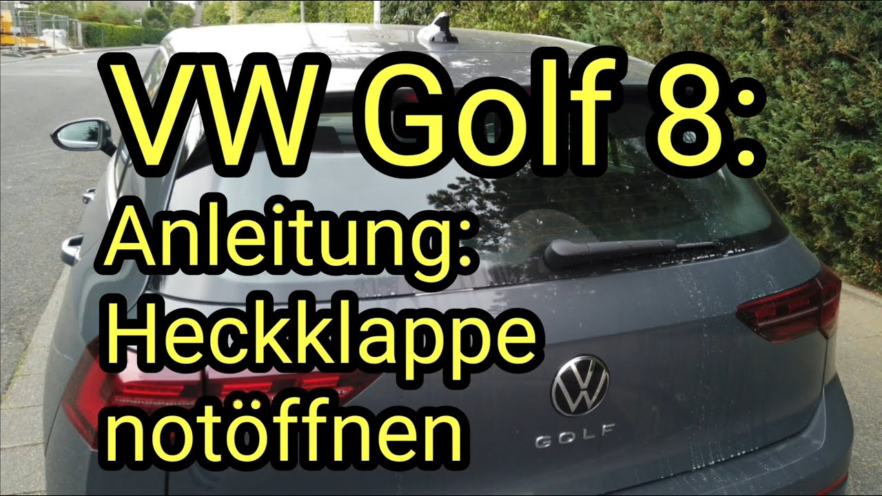 6 tankdeckel öffnen golf Tankdeckel geht