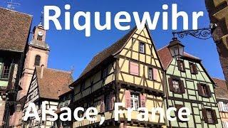 Beautiful medieval village of Riquewihr, Alsace Lorraine, France