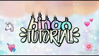 ♡BINGO TUTORIAL♡ | with picsart and phonto
