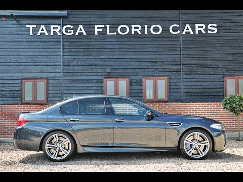 BMW M5 4.4 V8 DCT Automatic in Singapore Grey Metallic with Extended Black Merino leather