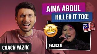 Download YAZIK reacts to SEMALAM - Aina Abdul   AJL 35