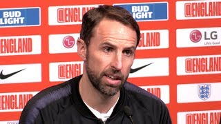 Gareth Southgate & Jordan Pickford Pre-Match Press Conference - England v Czech Republic - Euro 2020