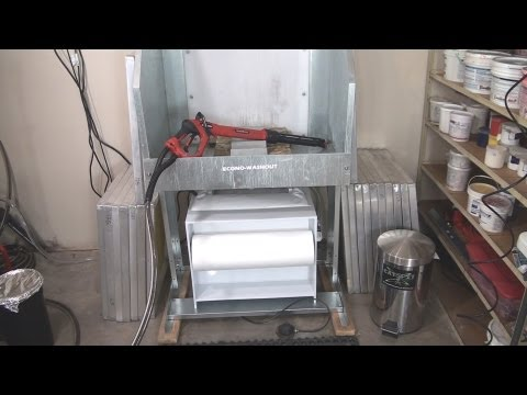 How To Screen Print: Washout Booth Environmental Filtration Unit