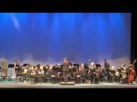 Osceola County School For The Arts I Gandalf HS Wind Ensemble Recital 8/29/18