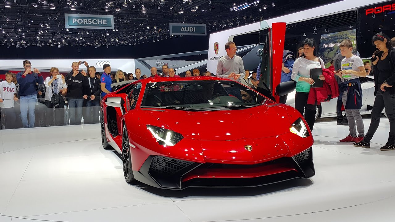 lamborghini aventador sv pirelli edition huracan geneva motor show 2015 youtube. Black Bedroom Furniture Sets. Home Design Ideas