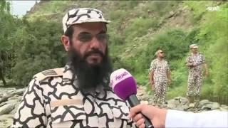 حماية الحدود السعودية اليمنية من المتسللين