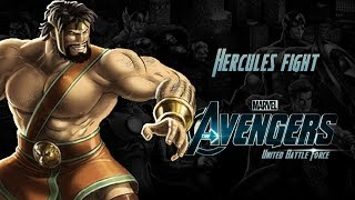 Hercules Fight - Avengers United Battle Force