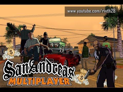 GTA San Multiplayer : บุกเดี่ยวก็เฟี้ยวได้ ปล้นสะหน่อย- Rivth28