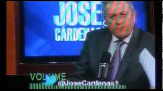 Ríos Piter en entrevista con José Cárdenas en Radio Fórmula