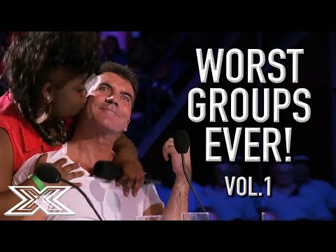 The WORST GROUP AUDITIONS On X Factor! Volume 1 | X Factor G