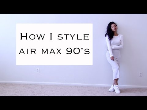 How I style Air Max 90's YouTube
