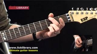 How To Play Shoot To Thrill by AC/DC   Guitar Lesson Intro   Licklibrary