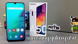 Samsung Galaxy A50, Déballage et prise en main