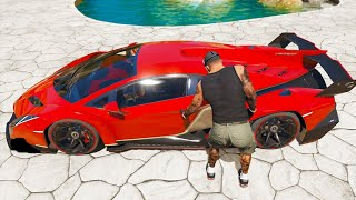 GTA 5 Stealing Super Cars with Franklin (GTA V Expensive Cars)