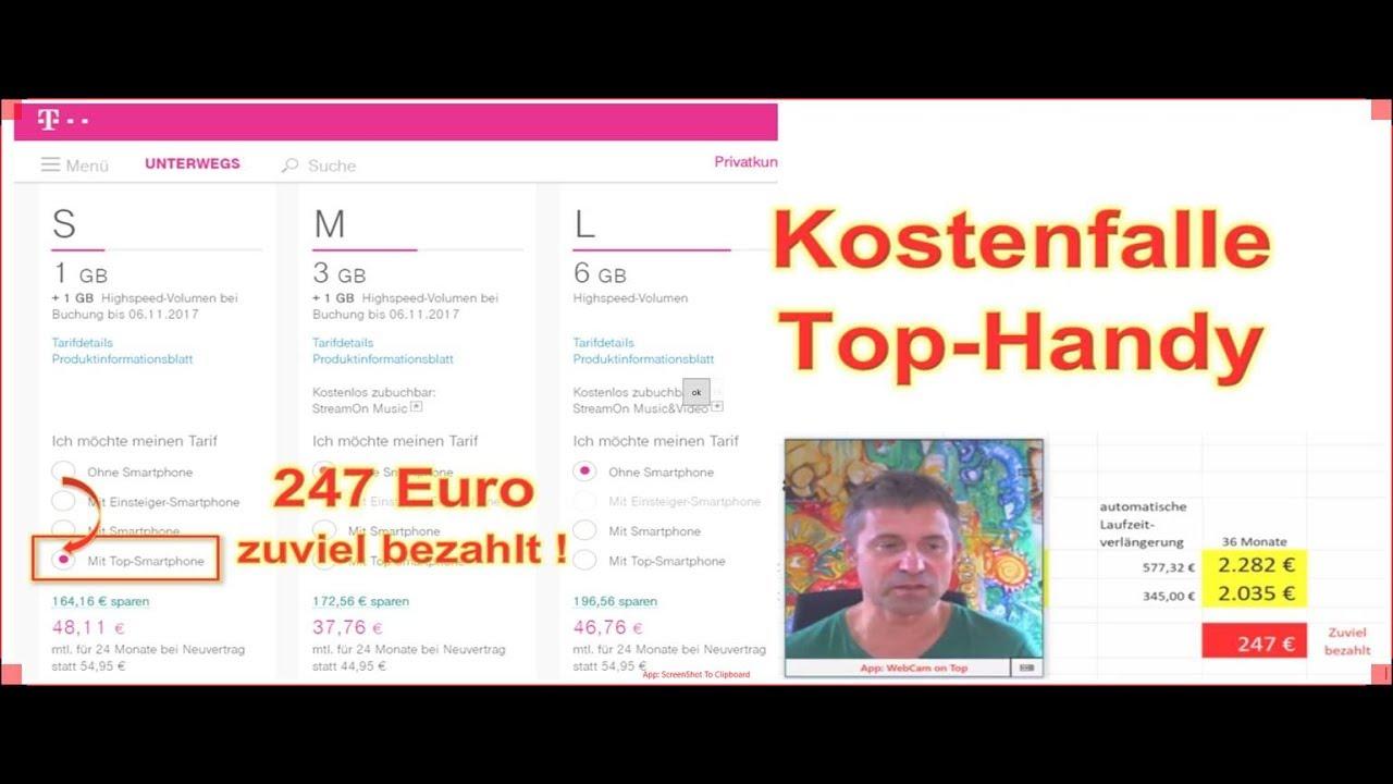 Top Handy Falle Telekom Bei Automatischer Vertragsverlängerung