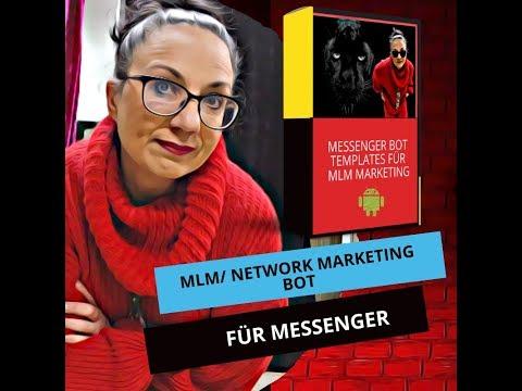 So Gestaltest Du MLM/ Network-Messenger-Chat-Bot