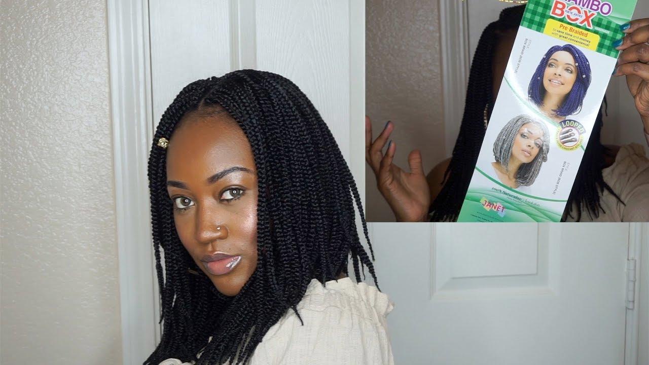 12 Inch Crochet Box Braids Youtube