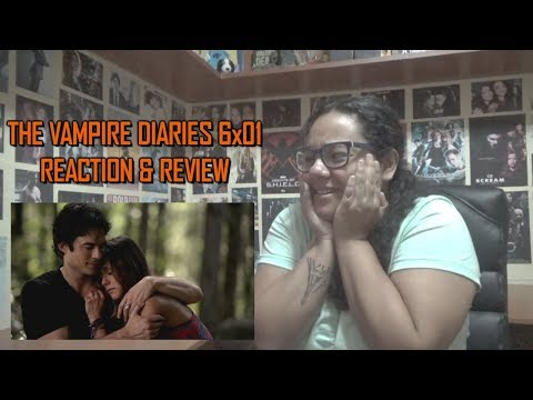 """The Vampire Diaries 6x01 REACTION & REVIEW """"I'll Remember"""" S06E01 