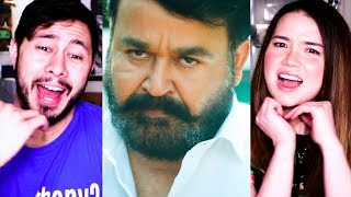 LUCIFER | Mohanlal | Malayalam | Trailer Reaction!