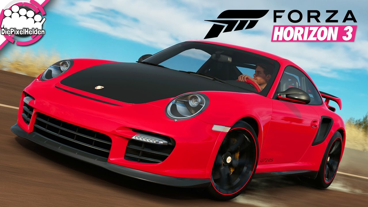 forza horizon 3 139 aquaplaning im 911 gt2 rs let 39 s play forza horiz. Black Bedroom Furniture Sets. Home Design Ideas