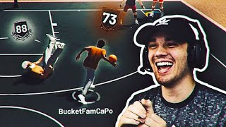 TURNING A 73 OVERALL SUBSCRIBER INTO A DRIBBLE GAWD ON NBA 2K19!