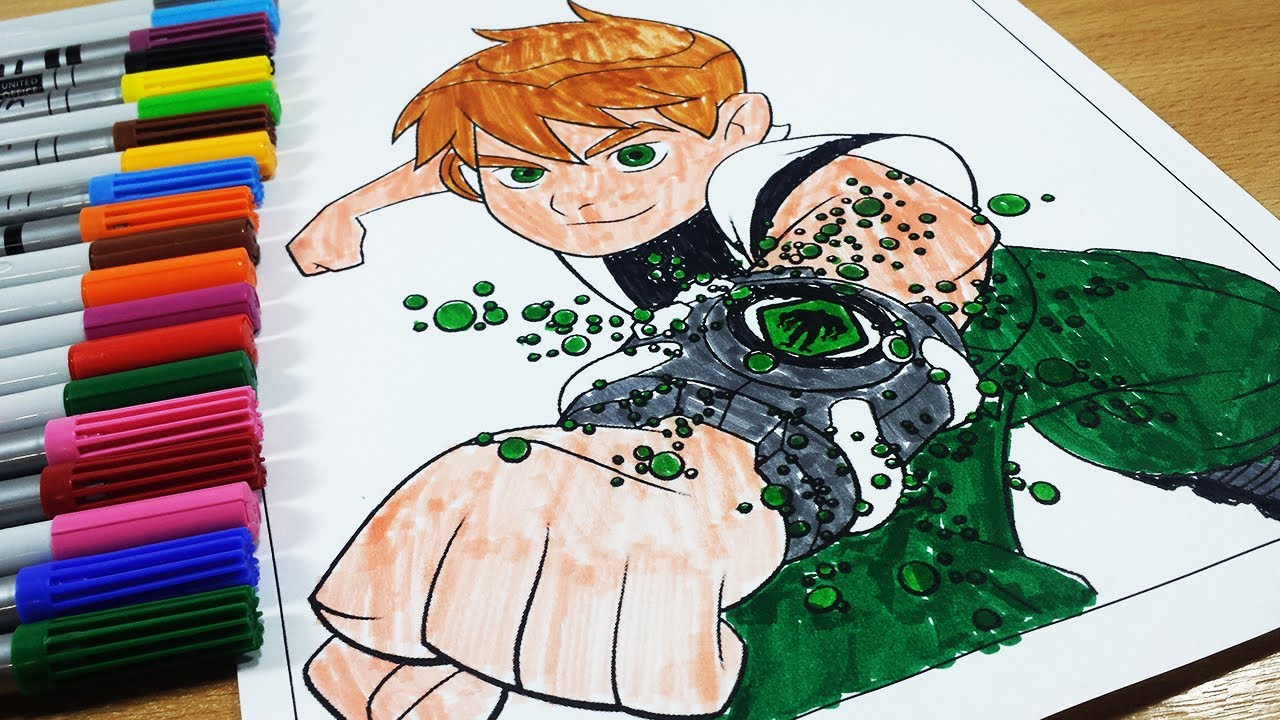coloring pages ben 10 ben 10 omniverse ben 10 ultimate alien