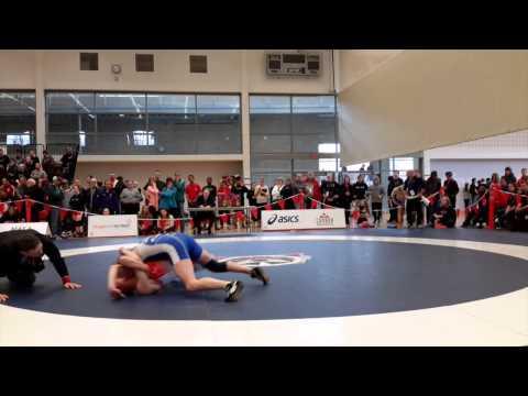 2015 Senior National Championships: 58 kg Larissa D'Alleva vs. Amanda Gerhart