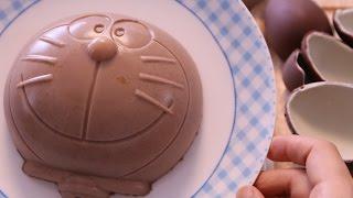 Doraemon Surprise Egg Chocolates Pudding ドラえもん チョコエッグプリン