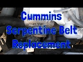 Serpintine Belt Replacement on a 2nd Gen Dodge Ram Cummins