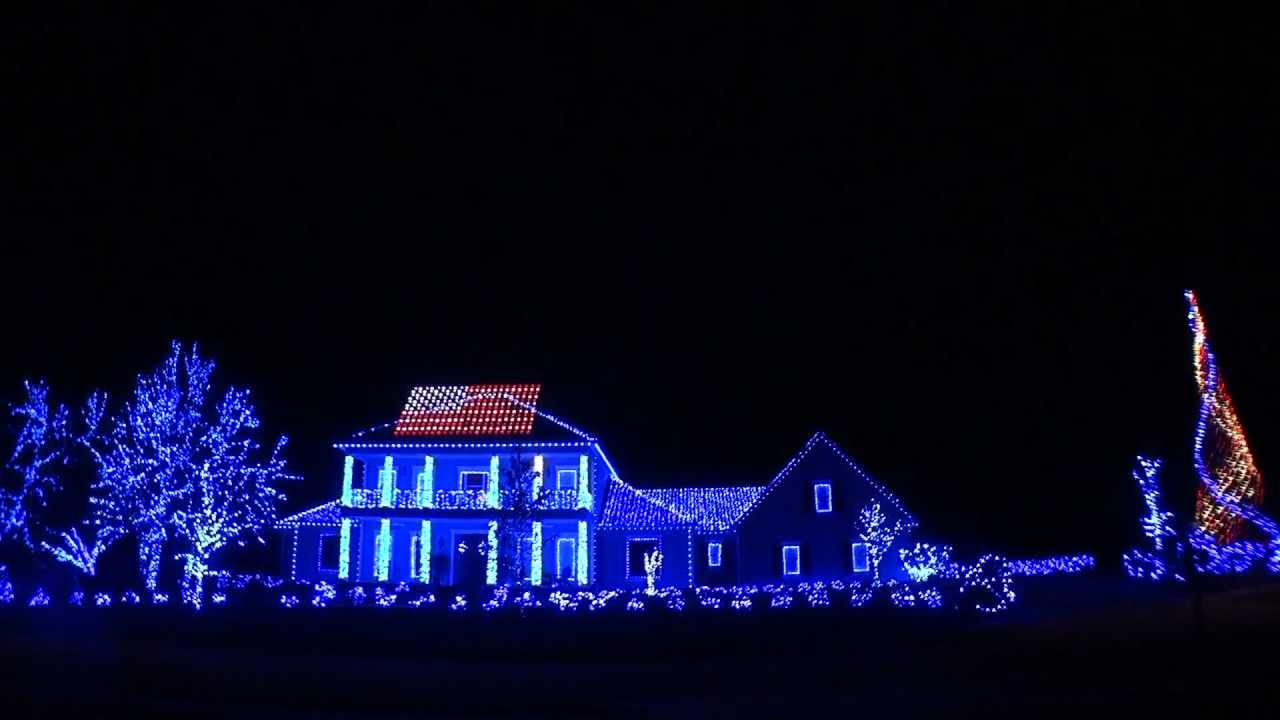 cool christmas house lighting. 2011 Christmas Lights- Thank You Troops And Veterans! Thanks For Your Votes! - YouTube Cool House Lighting