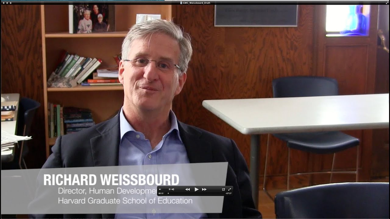 Rick Weissbourd - Promoting Moral Development in Schools ...