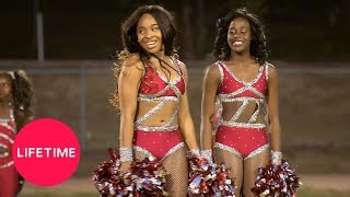 Watch the Jackson Dancing Dolls perform their pom routine for the B...