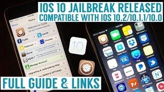 IOS 10.2 / 10.2.1 / 10.1.1 JAILBREAK TUTORIAL 32Bit & 64Bit  Full Guide and Links!