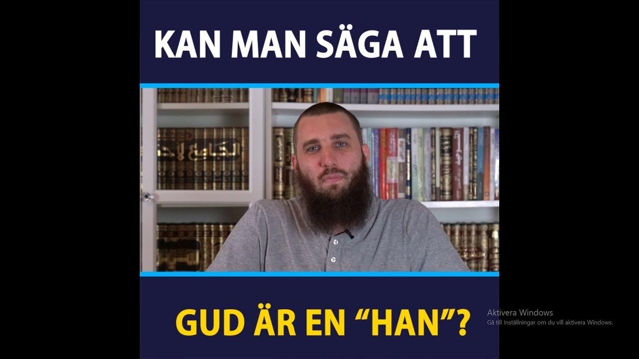 """Kan man säga att Gud är en """"Han""""?"""